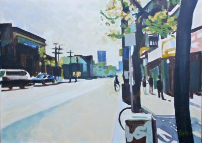 Summer Street by Ron Panter