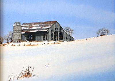 March/Barn by Doug Purdon
